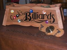 Personalized Pool Table Light   Cooku0027s Billiards.
