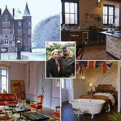 Dick and Angel Strawbridge, who have been documenting their ambitious renovation project on Channel Escape to the Chateau, are putting… Angel Adoree, Angel Strawbridge, Letters From Home, French Chateau, Cozy House, Favorite Tv Shows, Outdoor Decor, Nice Things, Channel