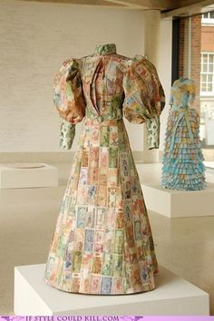 Susan Stockwell, Paper Dress Artist