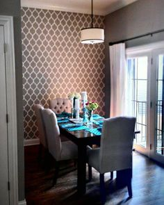 1000 images about feature wall ideas on pinterest for Dining room feature wall ideas