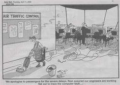 Air Traffic Control. So funny!