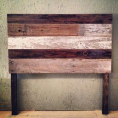 Reclaimed Wood Headboard by TheDesignHome on Etsy, $300.00