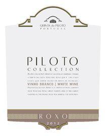 Piloto Collection Moscatel Roxo 2012 wine labbel