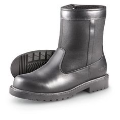 9a7e908f8a3fd8 Men s Totes Side - zip Stadium Boots Black Totes.  39.99