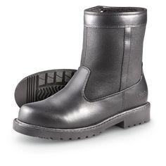 Men's Totes Side - zip Stadium Boots Black Totes. $39.99