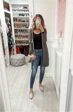 cute casual winter fashion outfits for back to school 5 – Trendy Fashion Ideas Blazer Outfits Casual, Cardigan Outfits, Grey Cardigan, Winter Mode Outfits, Warm Weather Outfits, Winter Fashion Casual, Trendy Fashion, Casual Winter, Fashion Ideas