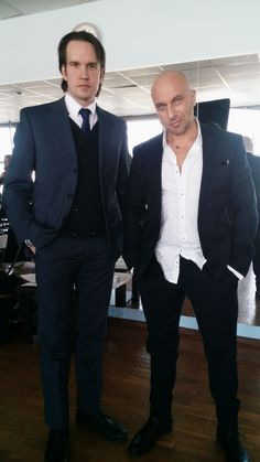 Dmitry Nagiev and Alexey Molyanov | Actor: Alexey Molyanov | www.AlexeyMolyanov.com | Business queries : mail@alexeymolyanov.com Suit Jacket, Breast, Happy Birthday, Actors, Suits, Formal, Jackets, Fathers, Business