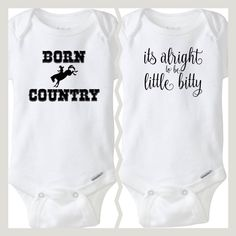 We added some Country vibes to our line this week! Perfect little outfits for your little cowboy or cowgirl baby! Baby Boy Camo, Camo Baby Stuff, Baby Boy Cowboy, Baby Girl Onsies, Organic Baby Clothes, Cute Baby Clothes, Country Baby Clothes, Western Baby Clothes, Country Outfits