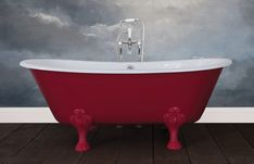 Traditional roll top baths made from copper, cast iron and brass, complemented with our range of bathroom accessories. Cast Iron Bath, Copper Bath, Roll Top Bath, Steel Wool, Wire Brushes, Clawfoot Bathtub, White Enamel, It Cast, Traditional