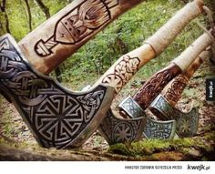 All things Viking, Celtic and Nature related Viking Axe, Viking Warrior, Celtic, Battle Axe, Viking Battle, Medieval Weapons, Norse Vikings, Asatru, Fantasy Weapons