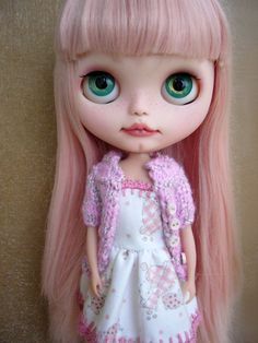 custom blythe doll art doll by GarlenaShop on Etsy