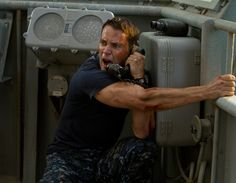 Check out a new Battleship trailer as well as some new images from the Peter Berg film, starring Taylor Kitsch, Alexander Skarsgard, and Liam Neeson. Taylor Kitsch, Liam Neeson, Brooklyn Decker, John Paul Jones, Rihanna, Badass Movie, Movie Tv, 2012 Movie, Action Film