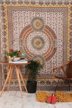 Sunshine Orbit Tapestry