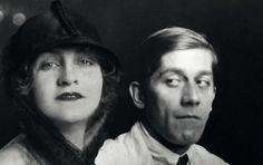 Alma Mahler with Oskar Kokoschka