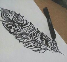 Piuma 🐦 Disegno ✏