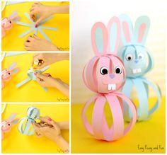 Cute Paper Bunny Craft