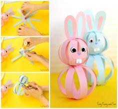 Cute Paper Bunny Craft