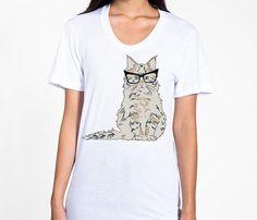 Cat Glasses T-Shirt