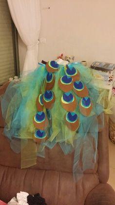 Pecock costume