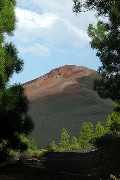 Volcán Garachico, Tenerife. España.
