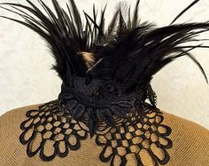 Maleficent Costume - Feather Choker