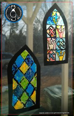 Medieval Stained Glass Craft and Activity by Glimmercat Education glass crafts for kids Medieval Stained Glass Craft and Activity Medieval Fair, Medieval Party, Medieval Times, Castle Crafts, Medieval Stained Glass, Medieval Crafts, Medieval Decorations, Stained Glass Crafts, Vbs Crafts