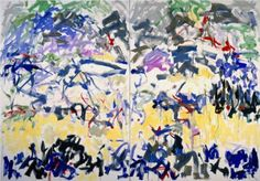 River - Joan Mitchell.  Art Experience NYC  www.artexperiencenyc.com