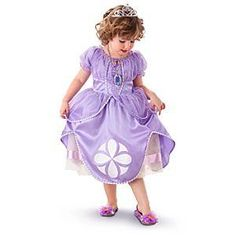 This Sofia the First costume is perfect for the Disney Princess in your life this Halloween.