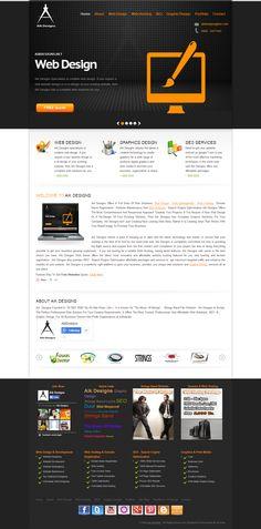 Aik Designs Responsive Website http://www.aikdesigns.com/