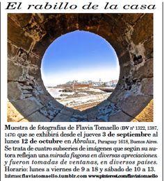 """""""El Diario del Viajero"""" de Argentina recomienda visitar  """"El rabillo de la casa 2"""" en Abralux, Paraguay 1618 (desde el 3 de septiembre, hasta el 12 de octubre abierta de Lun. a Vie. de 9 a 18hs y Sab. de 10 a 13hs.)."""