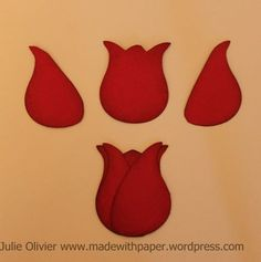 Owl punch Week: Make a tulip! | Made with paper