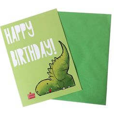CAKE! T-Rex Birthday Card by Best Years £1.99