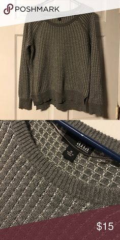Grey sweater! a.n.a grey sweater! Tags are off but has never been worn! Size medium! a.n.a Sweaters Crew & Scoop Necks