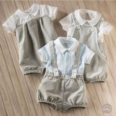 I would do this to my boys. Because I'm a horrible person and I would love every second of them wearing the these. Baby Boy Fashion, Kids Fashion, Baby Boy Outfits, Kids Outfits, Baby Boy Wedding Outfit, Baby Boy Christening Outfit, Baby Easter Outfit, Diy Vetement, Culottes