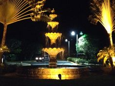 Grand Melia Resort, Puerto Rico, beautiful at night , LeSure / Davis 2014