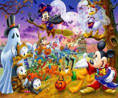 The Disney Halloween cartoons were the best! Disney Halloween, Halloween Mono, Mickey Halloween Party, Halloween Cartoons, Halloween Images, Scary Halloween, Happy Halloween, Halloween Ideas, Halloween Clipart