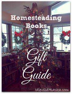 Homesteading Books Gift Guide