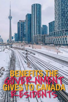 Benefits the Canadian government gives to residents