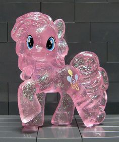 Crystal Pony version of Pinkie Pie SO CUTE!