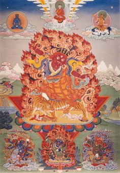 Historical Comments on The Sadhana of Mahamudra - The Chronicles of Chögyam Trungpa Rinpoche Tibetan Art, Tibetan Buddhism, Buddhist Art, We Fall In Love, Falling In Love, Thangka Painting, Vintage Menu, Mystique, Les Oeuvres
