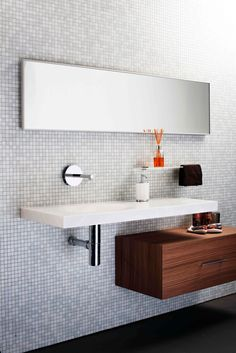 Laude Tapware Minosa Scooped Washbasin Made With Corian Image By Andrew Gol Bathroom