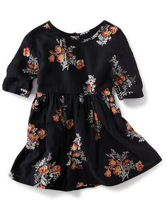 Floral Swing Dress for Baby