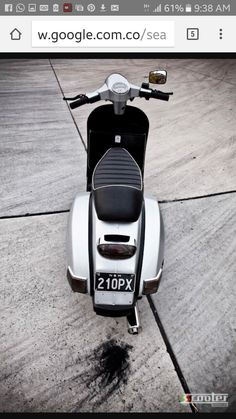 Vespa grey