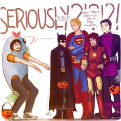 Happy Halloween from the demigods.