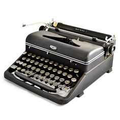 49 Royal Quiet Deluxe ( Refurbished Vintage Typewriters... I wish I kept my old typewriter )