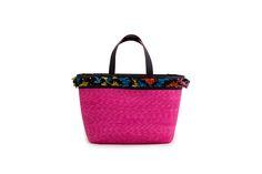 Azzurra Grochi spring/summer bags collection, shopper bag pink