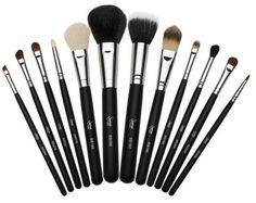 Face brushes from Sigma.