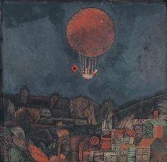 """ Paul Klee (1879-1940) Der Luftballon (The Balloon). 1926 """