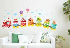 Cheap Wall Stickers Buy Directly from China SuppliersThis product bright colors made of PVC transparent film  environmentally friendly and water ...  sc 1 st  Pinterest & 57 best Cartoon Wall Decals images on Pinterest | Child room Kid ...