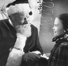 Miracle on 34th street (1947)....I absolutely love watching this movie during Christmas...one of my favorite holiday classics.